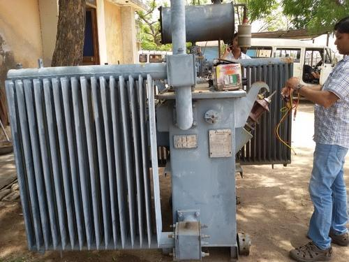 Old And Scrap Transformer